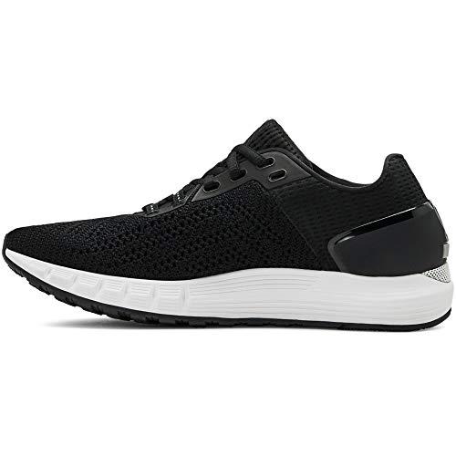 Under Armour Women's HOVR Sonic 2 Running Shoes, Black (Black/White/White (003) 003), 7 UK 41 EU