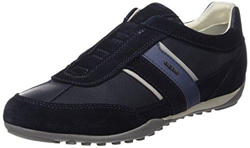 Geox U Wells A, Zapatillas Hombre, Azul (Navy), 43 EU