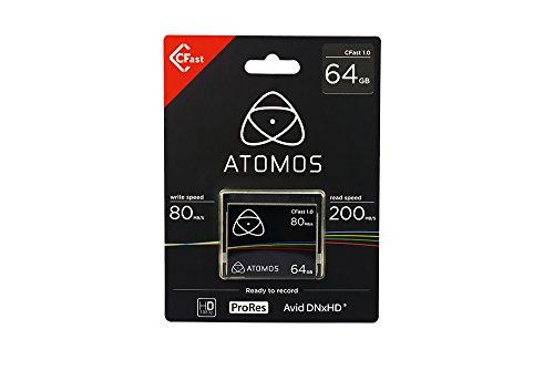 ATOMOS アトモス ATOMOS CFast カード 1.0 64GB ATOMCFT064