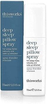 This Works Deep Sleep Pillow Spray, Natural Sleep Aid, 75ml, 2.5 fl oz