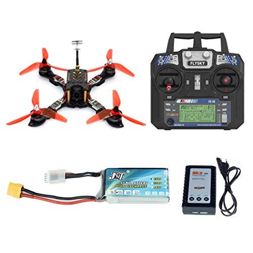 GEHOO GH 210mm RTF FPV Quadcopter Racing Drone Mini Racer con Flysky FS I6 Trasmettitore Omnibus F4 PRO (V2) Flight Controller