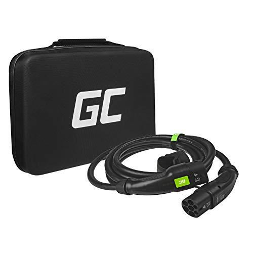 Green Cell® GC Cables de carga, Tipo 2 a Tipo 2, 16A, trifásico, 11kW, 5m