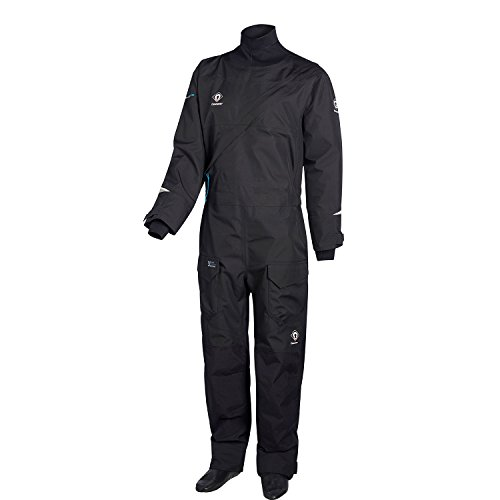Crewsaver Boating and Sailing - Atacama Pro Drysuit Dry Suit Including Undersuit Black - Unisex. Waterproof & Breathable
