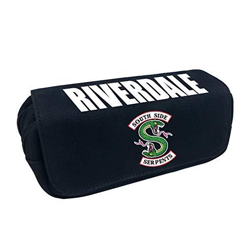 Unisex Riverdale Sacchetto della Matita della Borsa della Cancelleria della Borsa della Matita di...