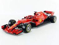 1/18 Ferrari SF 71H Sebastian Vettel - Modellino Bburago Racing F1 versione 2018
