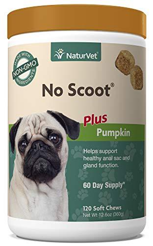 NaturVet - No Scoot for Dogs - 120 Soft Chews -...