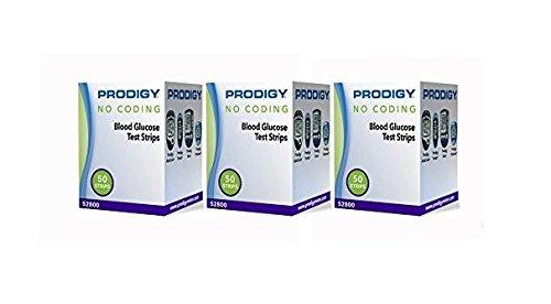 Prodigy Autocode Test Strips, 150 CT