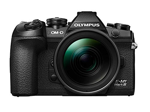 OLYMPUS ミラーレス一眼カメラ OM-D E-M1 MarkIII 12-40mm F2.8 PROレンズキット ブラック