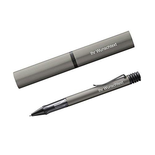 Lamy Kugelschreiber Lx Ru Modell 257, inkl. Laser-Gravur, Farbe Ruthenium