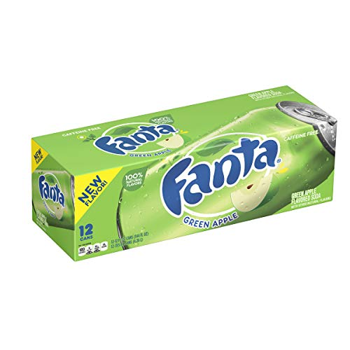 Fanta Green Apple, 12 x 355ml Lata