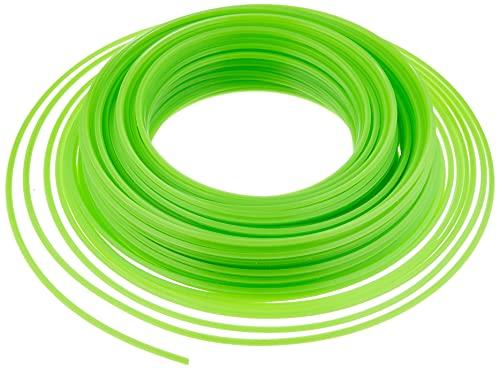 Ribimex PRDFB050X30CR Filo Quadrato in Blister, 3x50 m, Verde