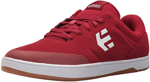 Etnies Men's Marana Skate Shoe, red/White, 9 Medium US