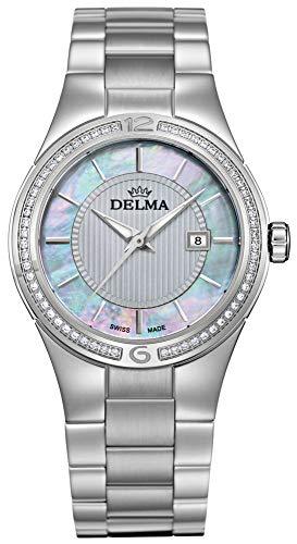 Delma Damenuhr Analog Quarz Metallarmband - 407154