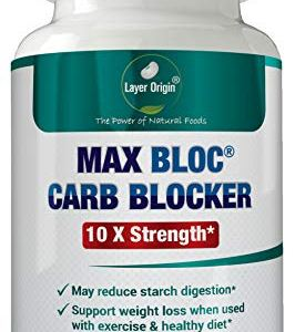 MAX BLOC Carb Blocker for Weight and Keto Support - Zero Lectin - 120 Capsules 6 - My Weight Loss Today