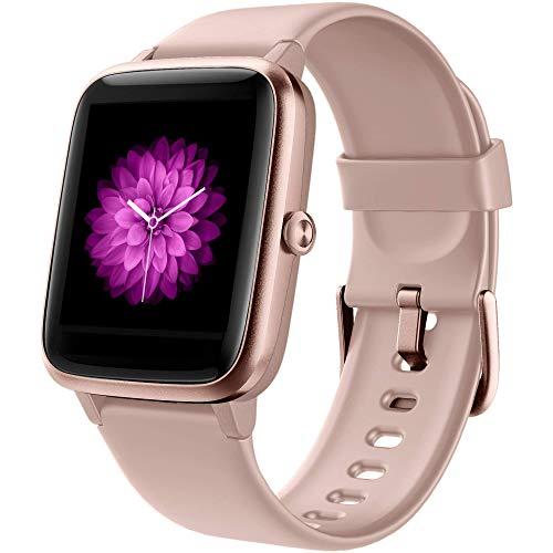 Smartwatch Donna, Orologio Fitness Tracker Impermeabil IP68 Cardiofrequenzimetro Sonno salute delle...