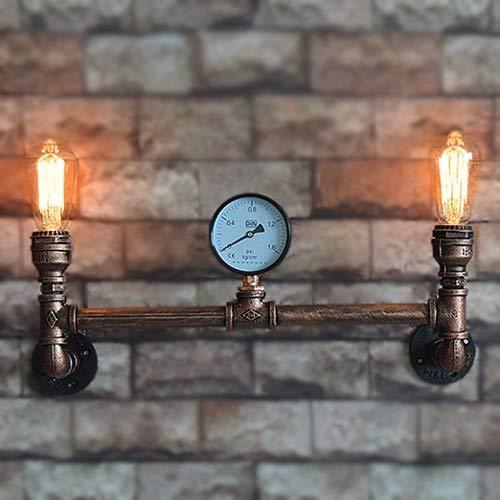 Luci armadio, Bermnn E27 Edison Barn luci decorative bedroom bedside luci 2 luci Vintage Industrial...