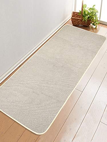 Saral Home Cotton Yoga Mat/Runner -60x180 cm; Grey