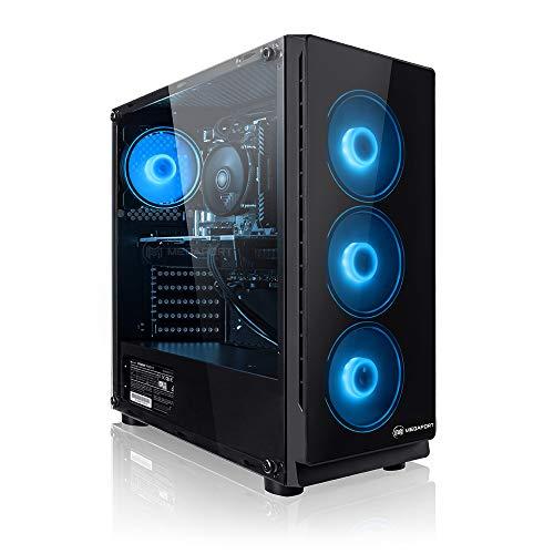 Megaport Gaming PC AMD Ryzen 5 2600X 6 x 4.20 GHz Turbo • Nvidia GeForce GTX 1660 6GB • 240GB SSD • 1000GB Festplatte • 16GB DDR4 RAM • Windows 10 Home • WLAN Gamer pc Computer Gaming Computer