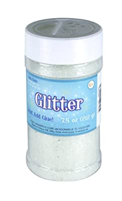 Bright and sparkling glitter for a variety of projects Measures 8.0 oz Easy to use shaker top It is a non-toxic product
