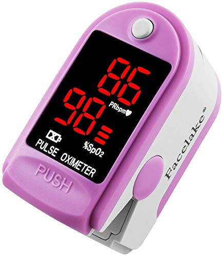 Facelake ® FL400 Pulse Oximeter with Carrying Case