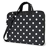 15,6 Pulgadas Lunares Laptop Messenger Bag Maletín Notebook Bussiness Bolso