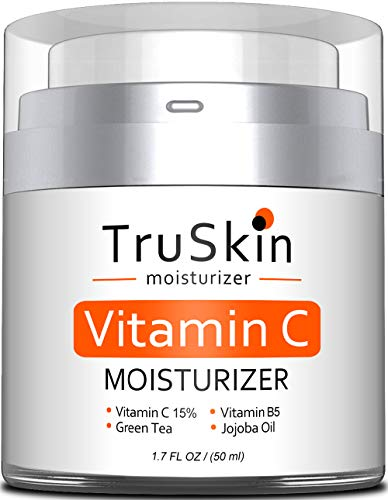 BEST Vitamin C Moisturizer Cream for Face, Neck & Dcollet for Anti-Aging, Wrinkles, Age Spots, Skin Tone, Firming, and Dark Circles. 1.7 Fl. Oz