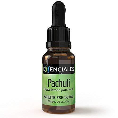 Essenciales - Aceite Esencial de Pachuli, 100% Puro, 10 ml | Aceite Esencial Pogostemon Cablin