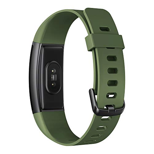 Realme Band (Green) - Full Colour Screen with Touchkey, Real-time Heart Rate Monitor, in-Built USB Charging, IP68 Water Resistant 9