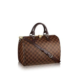 Louis Vuitton Damier Ebene Canvas Speedy Bandouliere 30 N41367 7