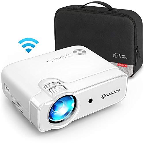 VANKYO Leisure 430W Proiettore WIFI, Videoproiettore con 300' Display, Supporta 1080P, HiFi Speaker, con Borsa Portatile, per TV Stick iOS/Android/Entry-Level/Regalo