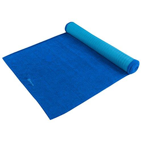 Gaiam Grippy Yoga Mat Towel, Ocean Sky