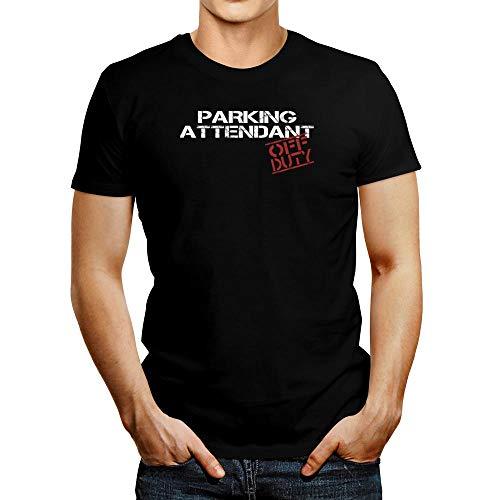 Idakoos Parkassistent Off Duty Schablonen-T-Shirt - Schwarz - Mittel