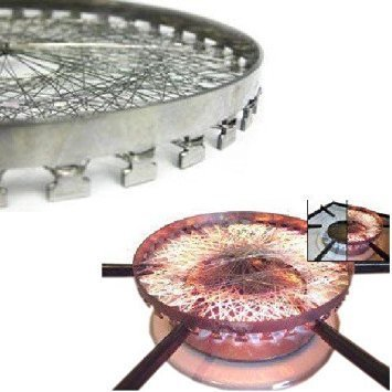 Stainless Steel Gas Saver Device, Chota Mini Papad/ Tandoor / Roaster