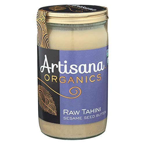 Artisana Organics Raw Tahini Sesame Seed Butter, 14-ounce Jars (Pack of 6)