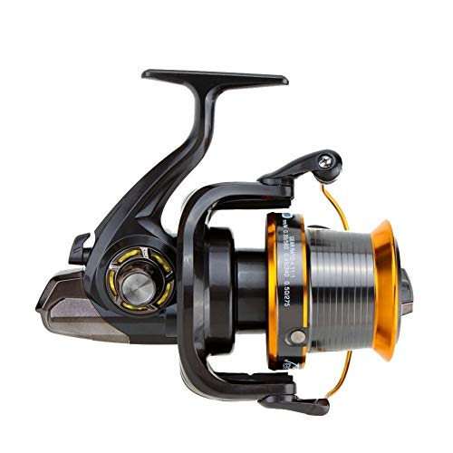 Edward Jackson 12 1BB 13 Cuscinetti a Sfera a Sinistra/Destra Intercambiabile Sea Fishing Metal Wheel Spinning Reel Mulinello da Pesca a Spinning