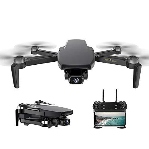 tyuiop Drone GPS 4K HD 5G WiFi, Drone Quadricottero RC Drone FPV Motore Brushless 28 Min Distanza RC 1 Km
