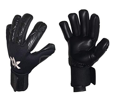 Sportswear Kingdom Special Pro Herren Torwarthandschuhe mit Fingersave (schwarz, 8)