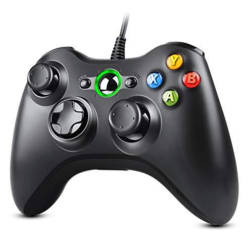 Zexrow Controller für Xbox 360, Gamepad Joystick mit Kabel, USB Controller für Microsoft Xbox 360 PC Windows 7/8/10 / XP