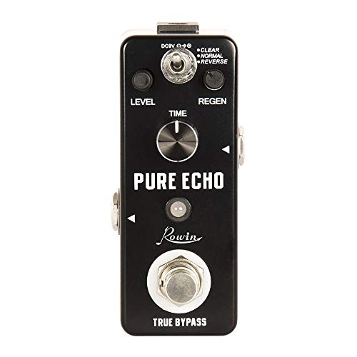 Rowin LEF-3803 Pure Echo effect guitar pedal fit electric guitar