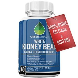 Carb Blocker - 60 X 600 MG of 100% Pure White Kidney Bean Extract - 2 Phase Carb Blocking Benefits (Ingestion and Digestion) 12 - My Weight Loss Today