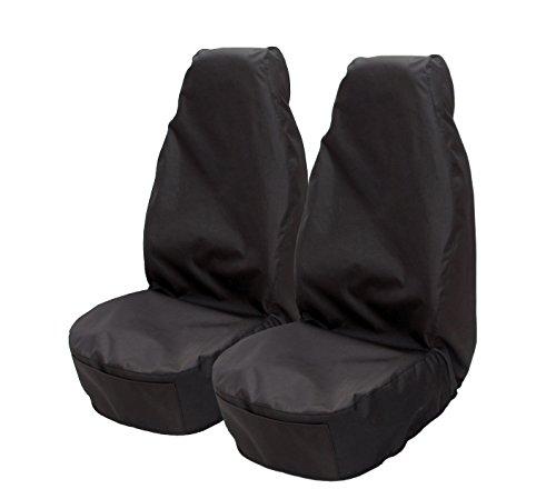 Globtex Vordersitzbezüge Schutzbezug mit Taschen. Schonbezug Nylon. Werkstattschoner, Sitzschoner, Schonbezug, Werkstattsitzbezug.