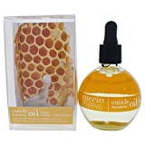 Cuccio Naturale Milk and Honey Cuticle Revitalizing Oil - Moisturizes and Strengthens Nails and Cuticles - Soothing and Nourishing - Paraben and Cruelty Free with Natural Ingredients - 2.5 oz