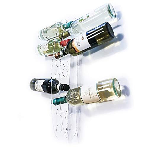 Cantinetta portabottiglie in Plexiglass Trasparente di Alto Design