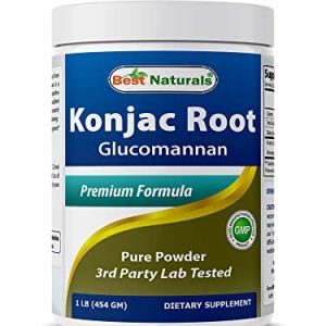 Best Naturals Konjac Root Glucomannan Powder (Non-GMO) - Promotes Healthy Metabolism & Weight Management - 1 Pound 3 - My Weight Loss Today