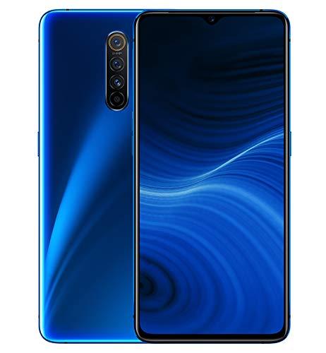 """Realme X2 Pro - Smartphone de 6.5"""", 8 GB RAM + 128 GB ROM, SuperAMOLED, procesador Octa-Core, cuádruple cámara 64 MP + 16 MP, Dual Sim, Azul (Neptune Blue)"""