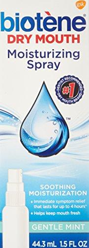 Biotene Mouth Spray, Gentle Mint, 1.5 Ounce Bottle Multi Packs (2)