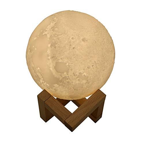 Diffuseurs D'huiles Essentielles Humidificateur Forme De Lune, Cadeaux Créatifs, Batterie Au Lithium Intégrée, 880 ML, pour Chambre à Coucher, Voiture, White