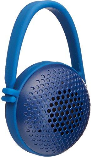 AmazonBasics Portable Nano/Mini Bluetooth Speaker, Splash-Proof - for Indoor, Outdoor use - Blue