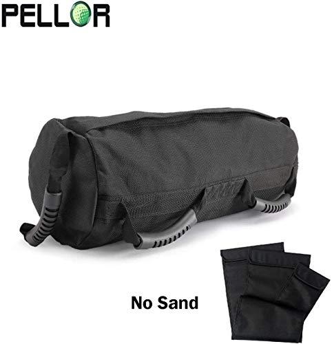 PELLOR Sandbag, Saco Peso Fitness Saco de Arena para Entrenamiento de...