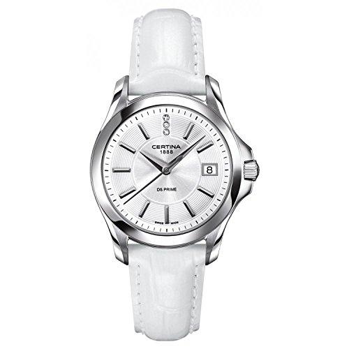 Certina Damen-Armbanduhr XS Analog Quarz Leder C004.210.16.036.00
